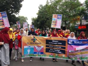 Hari Kanker Sedunia 2018 di daerah 3