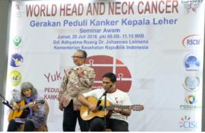 Peringatan Kanker Kepala Leher 2016