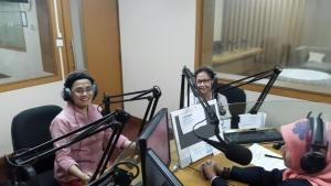 Siaran RRI bersama Bu Nining (Menko kemaritiman) WCD 2015