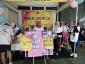 Hari Kanker Sedunia 2018 di daerah 2