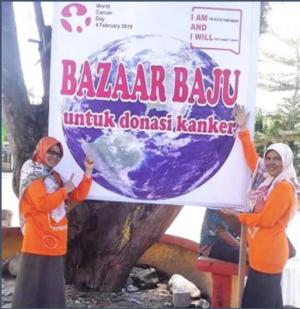 Hari Kanker Sedunia 2019 di daerah_3